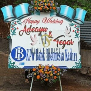 bunga papan wedding 2
